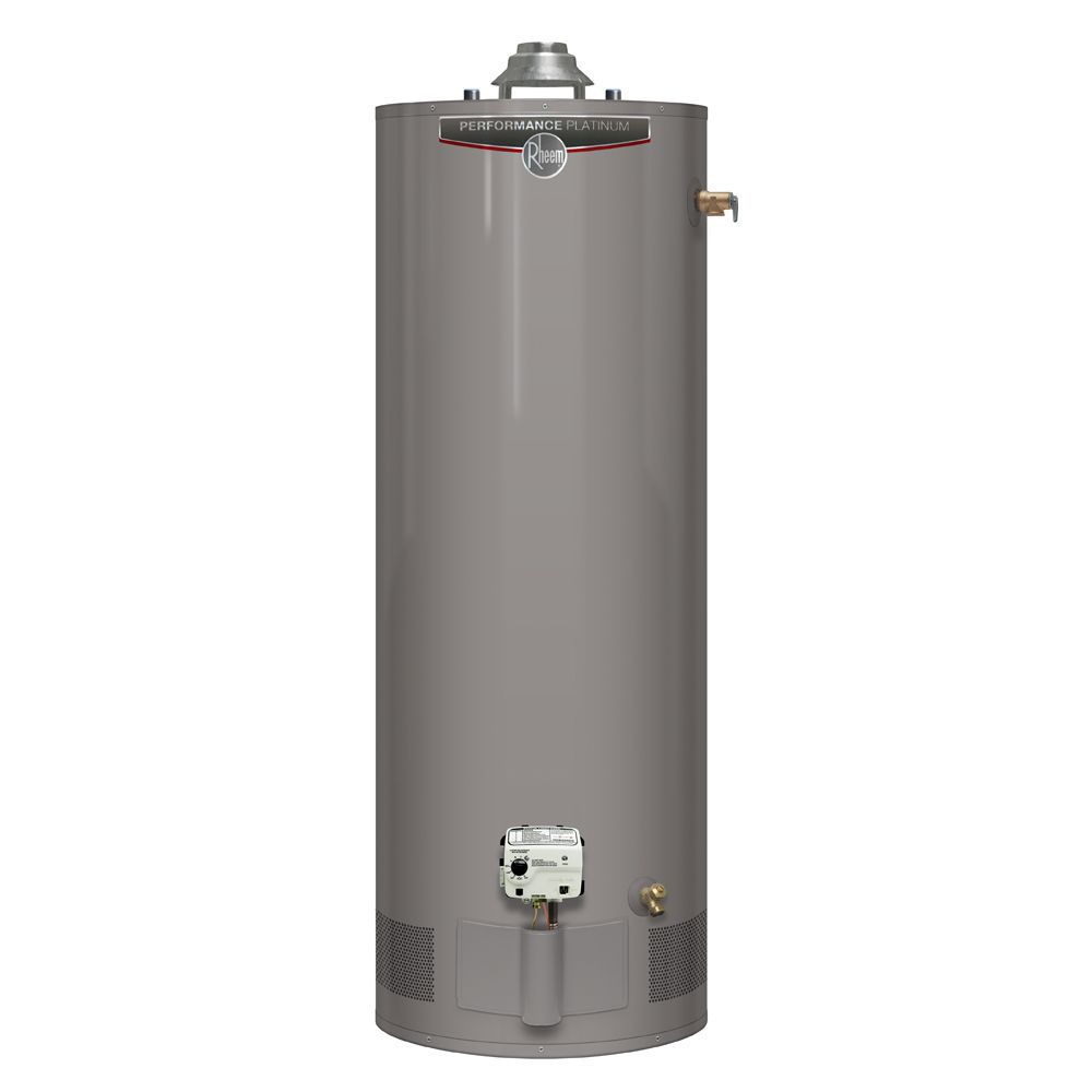 Rheem Performance Platinum 60 Gallon Gas Water Heater with 12 Year Warranty (Approved for BC Mark...