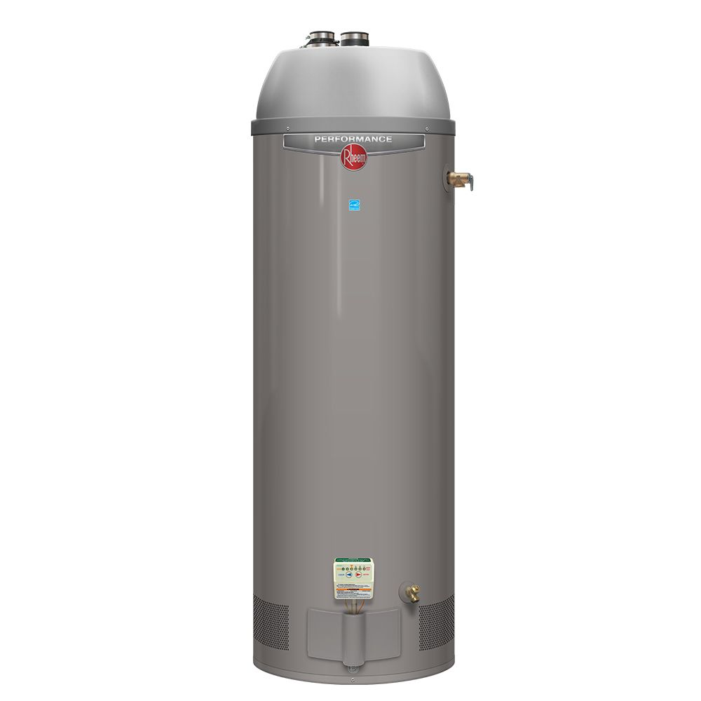 Rheem Performance Power Direct Vent 50 Gallon Gas Water Heater with 6 Year Warranty