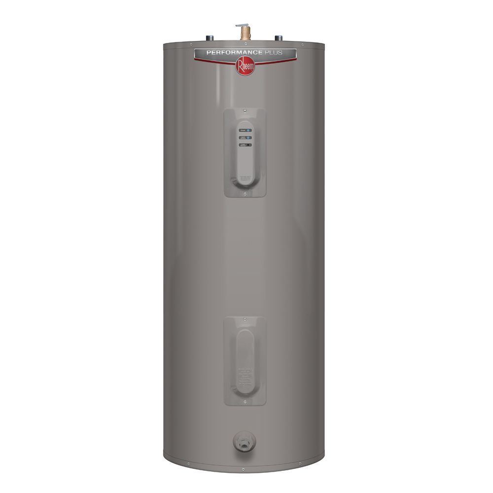 Rheem Performance Plus 40 Gallon Electric Water Heater with 9 Year Warranty (Approved for BC Mark...