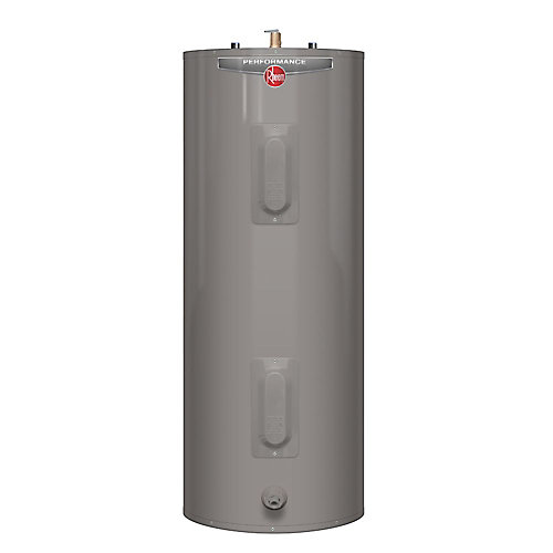 Performance 40 Gal Electric Water Heater with 6 Year Warranty