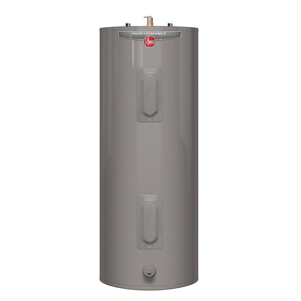 Rheem Performance 40 Gal Electric Water Heater with 6 Year Warranty