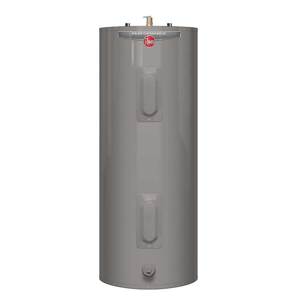 Rheem Performance 63 Imperial Gal Electric Water Heater with 6 Year Warranty