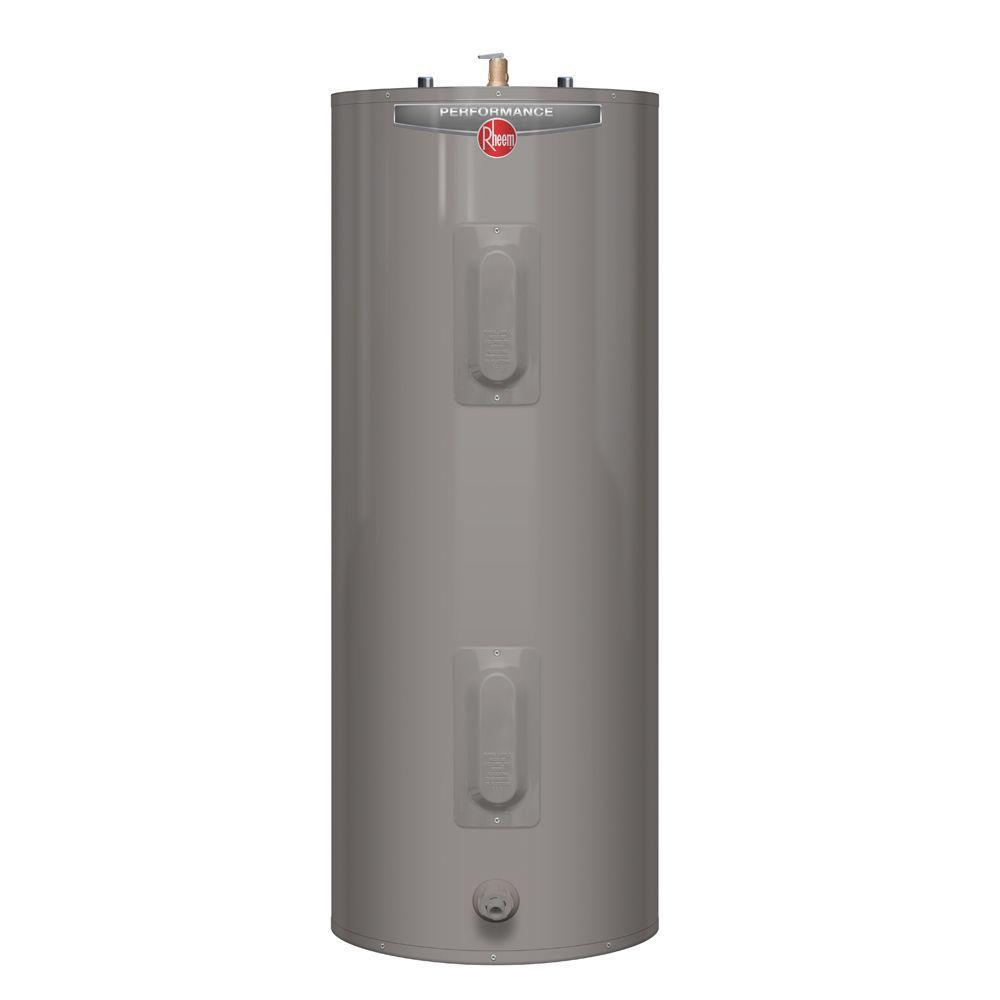 Chauffe-eau électrique de la gamme Performance de Rheem de 40 Gallons avec 6 ans de garantie (con...