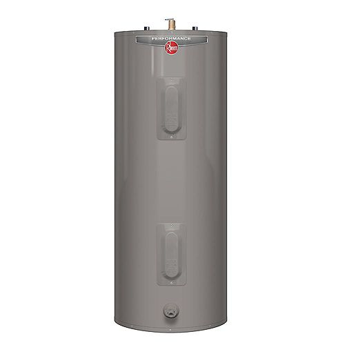 Rheem Performance 39 Imperial Gal Electric Water Heater with 6 Year Warranty