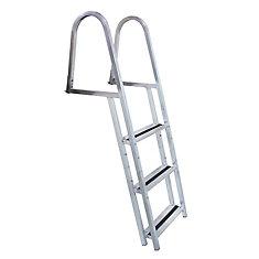 Stand Off Aluminum Dock Ladder, 3 Step