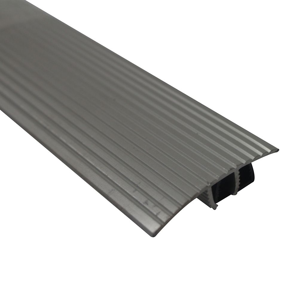 M-D Building Products Cinch SnapTrack T-Moulding36 Inch Satin Silver