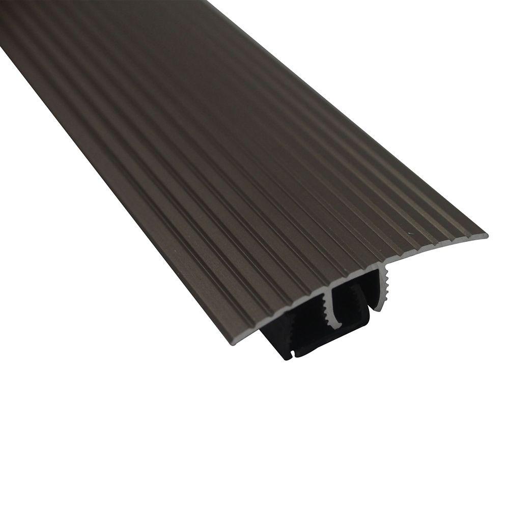Schluter Rondec Step Satin Nickel Anodized Aluminum 3 8 In