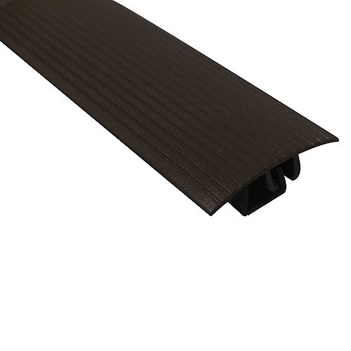 M-D Building Products Cinch Snaptrack T-Moulding - 1-1/2 inch X 36 inch - Spice