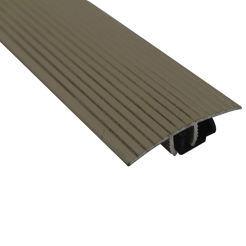 M-D Building Products Moulure En T Cinch Avec Snaptrack - 1 1/2 Po X 36 Po - Beige