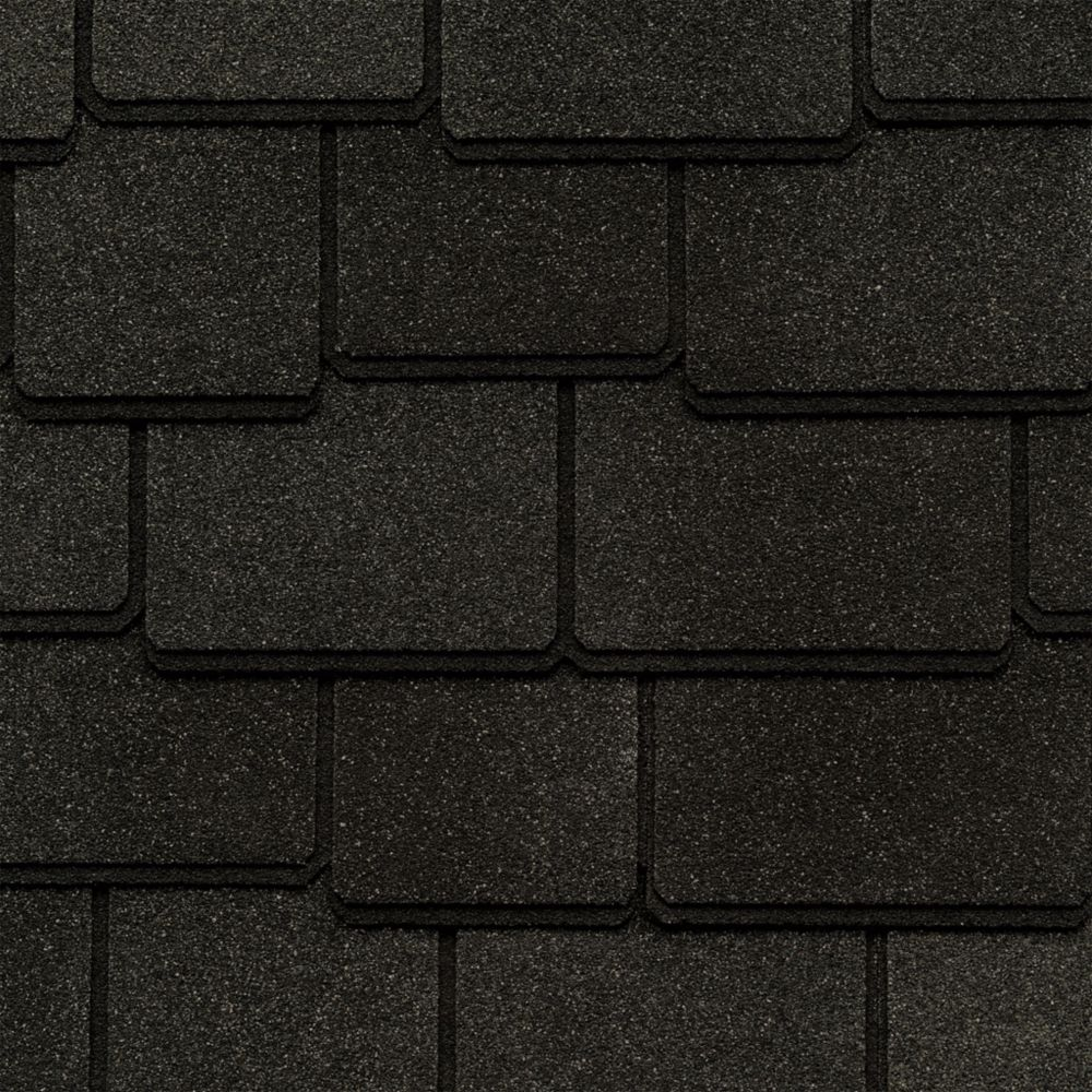 Woodland Canterbury Black Lifetime Designer Shingles