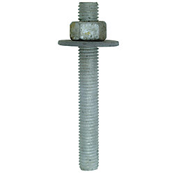 Simpson Strong-Tie RFB 5/8 inch x 5 inch Hot-Dip Galvanized Retrofit Bolt