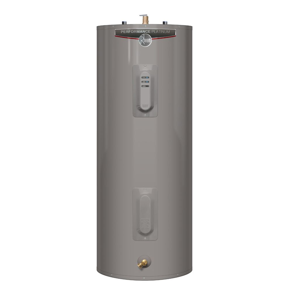 Rheem Performance Platinum 40 Gallon Electric Water Heater with 12 Year Warranty