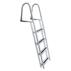 Stand Off Aluminum Dock Ladder, 4 Step