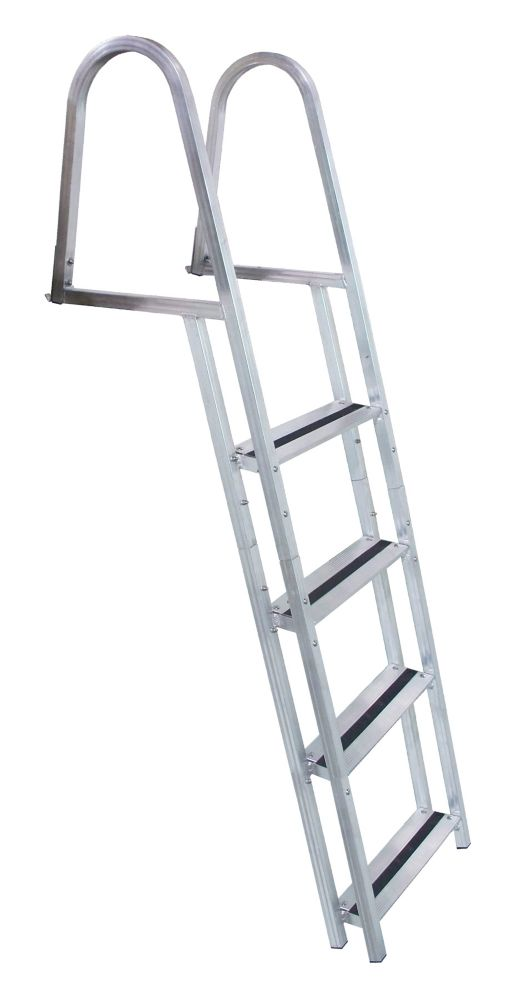 Stand Off Aluminum Dock Ladder, 4 Step