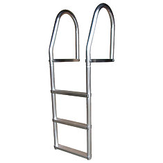 ECO Weld Free Aluminum Dock Ladder, 3 Step