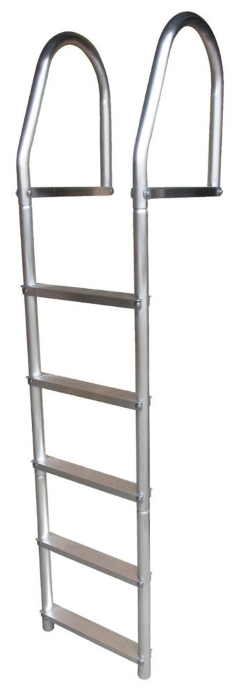 ECO Weld Free Aluminum Dock Ladder, 5 Step