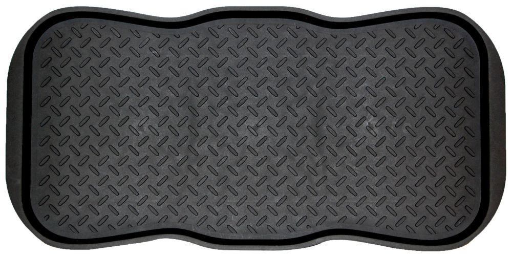 19x39 Scalloped Boot Tray