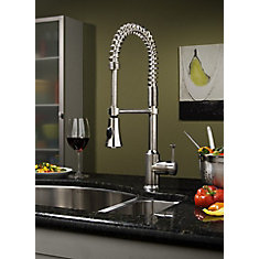 Pekoe Semi Professional Kitchen Faucet In Polished Chrome