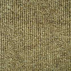 Foss Manufacturing Company Ribbed Taupe Indoor/Outdoor 6 Feet x 8 Feet Area Rug