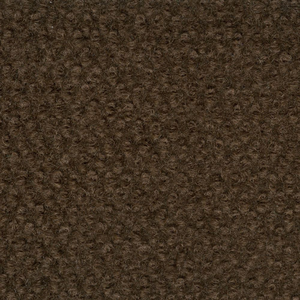 Hobnail chocolate indoor outdoor 6 feet x 8 feet area rug for Discount indoor outdoor carpet
