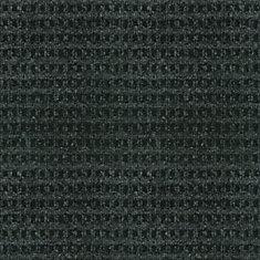 Checkmate Black 6 ft. x 8 ft. Indoor/Outdoor Textured Rectangular Area Rug