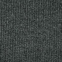 Foss Manufacturing Company Carpette d'intérieur/extérieur, 6 pi x 8 pi, tissage texturé, rectangulaire, gris Unbound