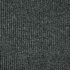 Unbound Grey 6 ft. x 8 ft. Indoor/Outdoor Textured Rectangular Area Rug