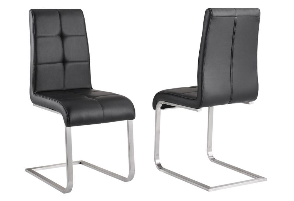 Kolt chaise ensemble de deux - Noir