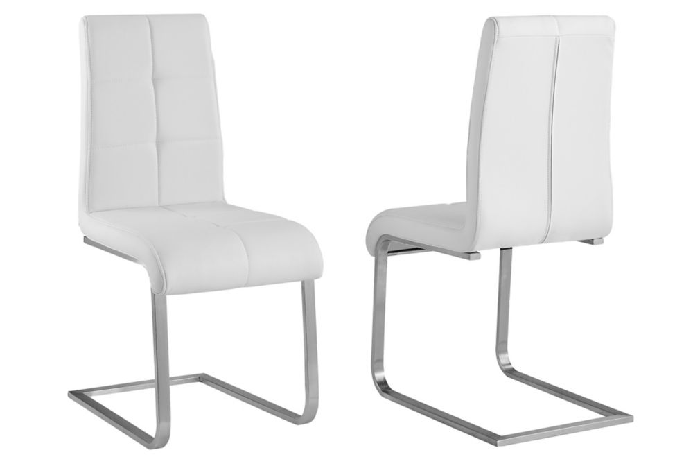 Kolt chaise ensemble de deux - Blanc