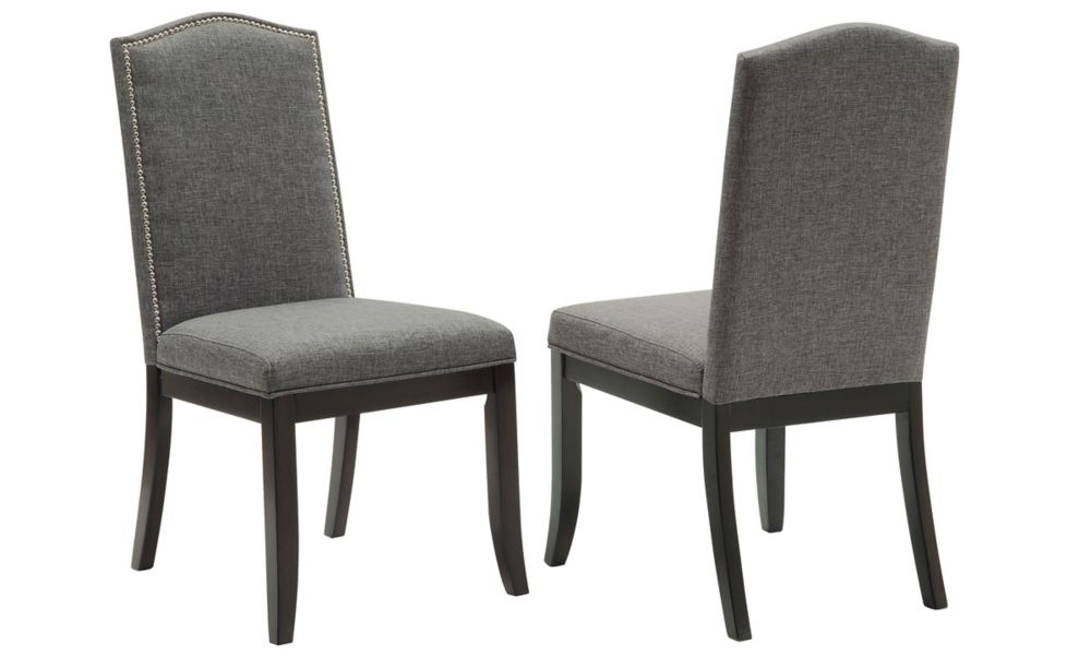 Jazz - Box of 2 - Side Chair - Charcoal Grey