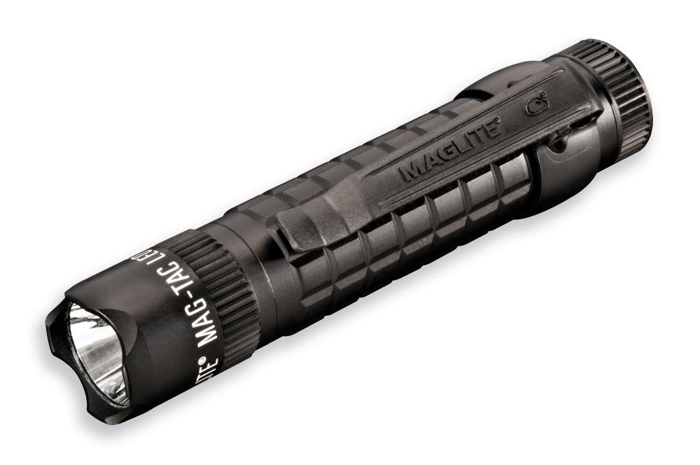 Mag-Tac couronné Lunette 2-Cell lampe de poche LED - Noir