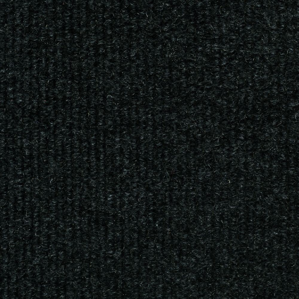 Upc 080321105547 Black Ribbed 18 In X 18 In Carpet