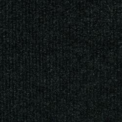 TrafficMASTER Tuile de tapis côtelée 18 po. x 18 po., noir, 16 tuiles/boîte - (3,35m2 carré par caisse)