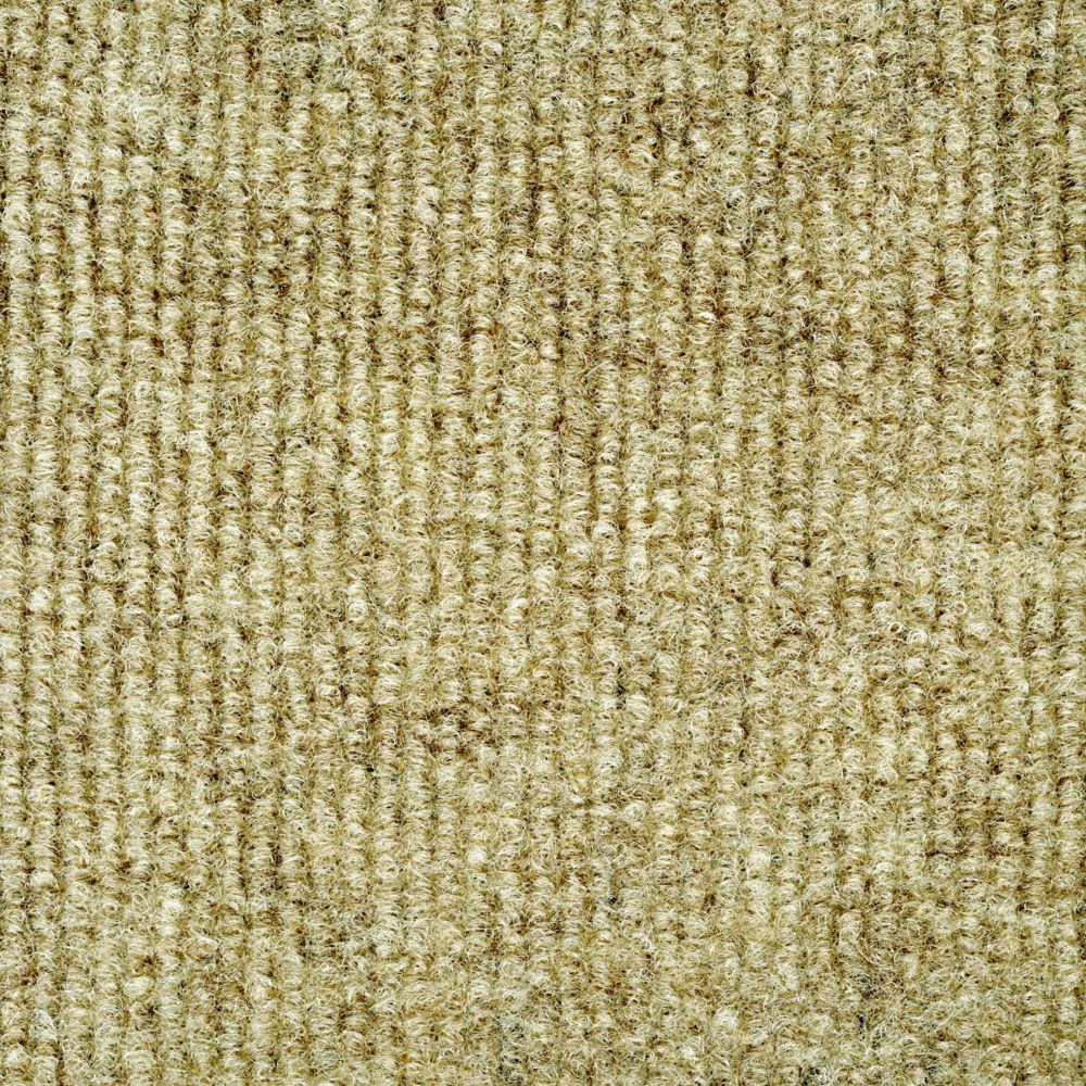 Putty Ribbed 18 Inch x 18 Inch Carpet Tiles 16 Tiles/Case - (36 Sq.Feet./Case)