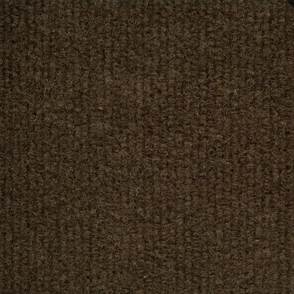 Brown Ribbed 18 Inch x 18 Inch Carpet Tiles 16 Tiles/Case - (36 Sq.Feet./Case)