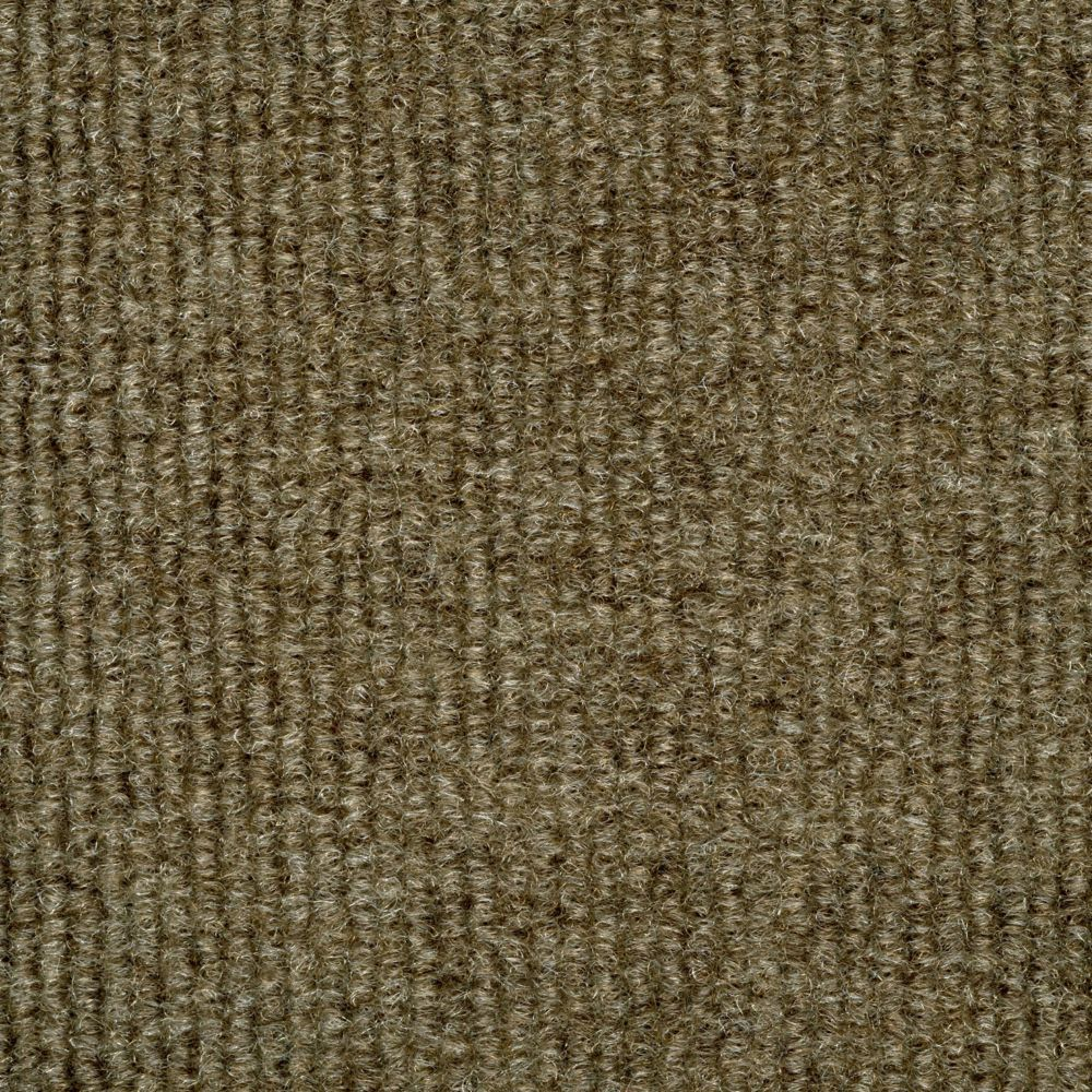 TrafficMASTER 18-inch x 18-inch Bark Ribbed Carpet Tiles 16 Tiles/Case - (36 Sq.Feet./Case)