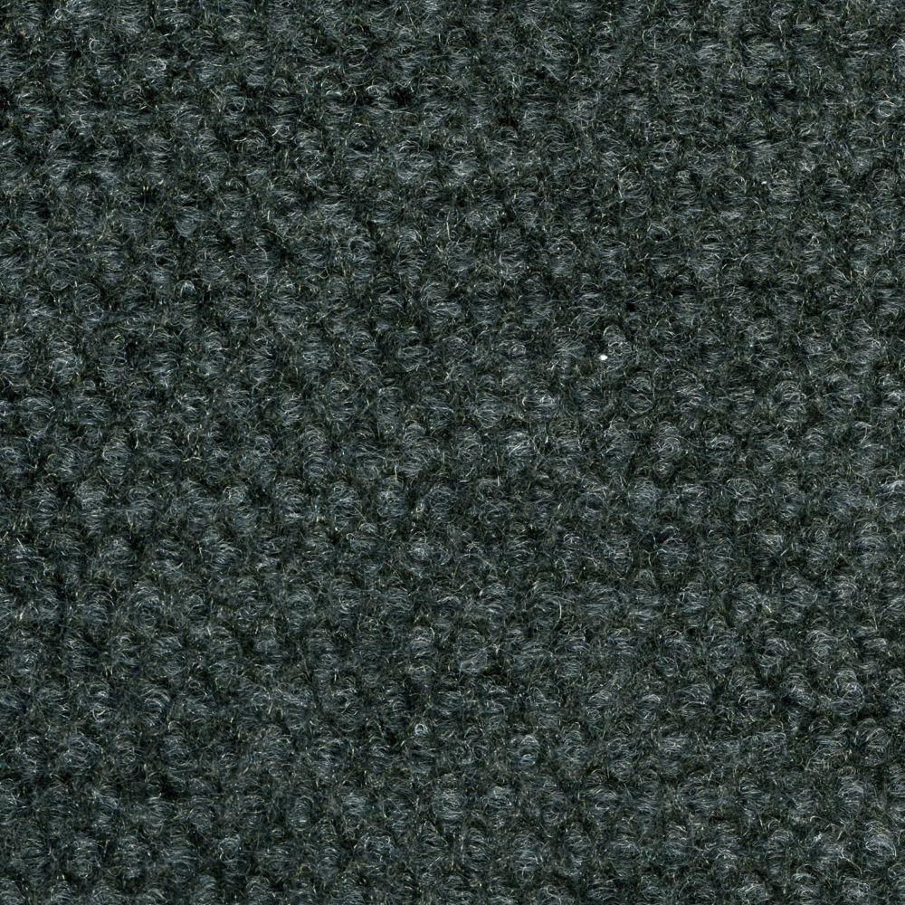 Gunmetal Hobnail 18 Inch x 18 Inch Indoor/Outdoor Carpet Tiles 16 Tiles/Case - (36 Sq.Feet./Case)