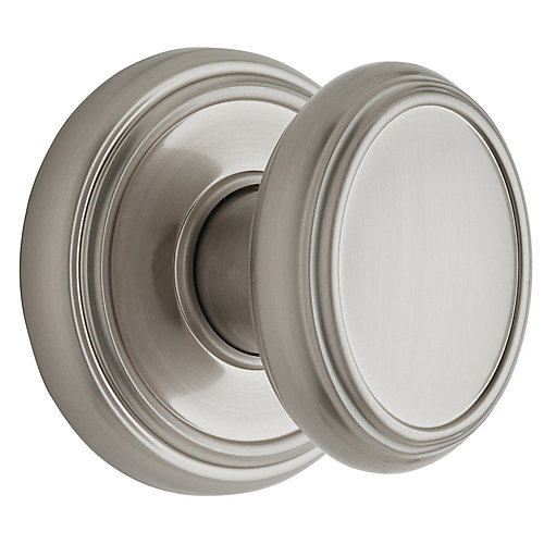 Brixton Satin Nickel Passage Knob