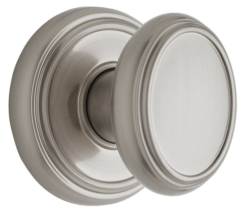 Weiser Brixton Satin Nickel Passage Knob