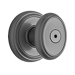 Brixton Satin Nickel Privacy Knob