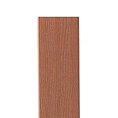 12 PI - HP Bordure en Composite Redwood - 11 1/4 po x 1/2 po
