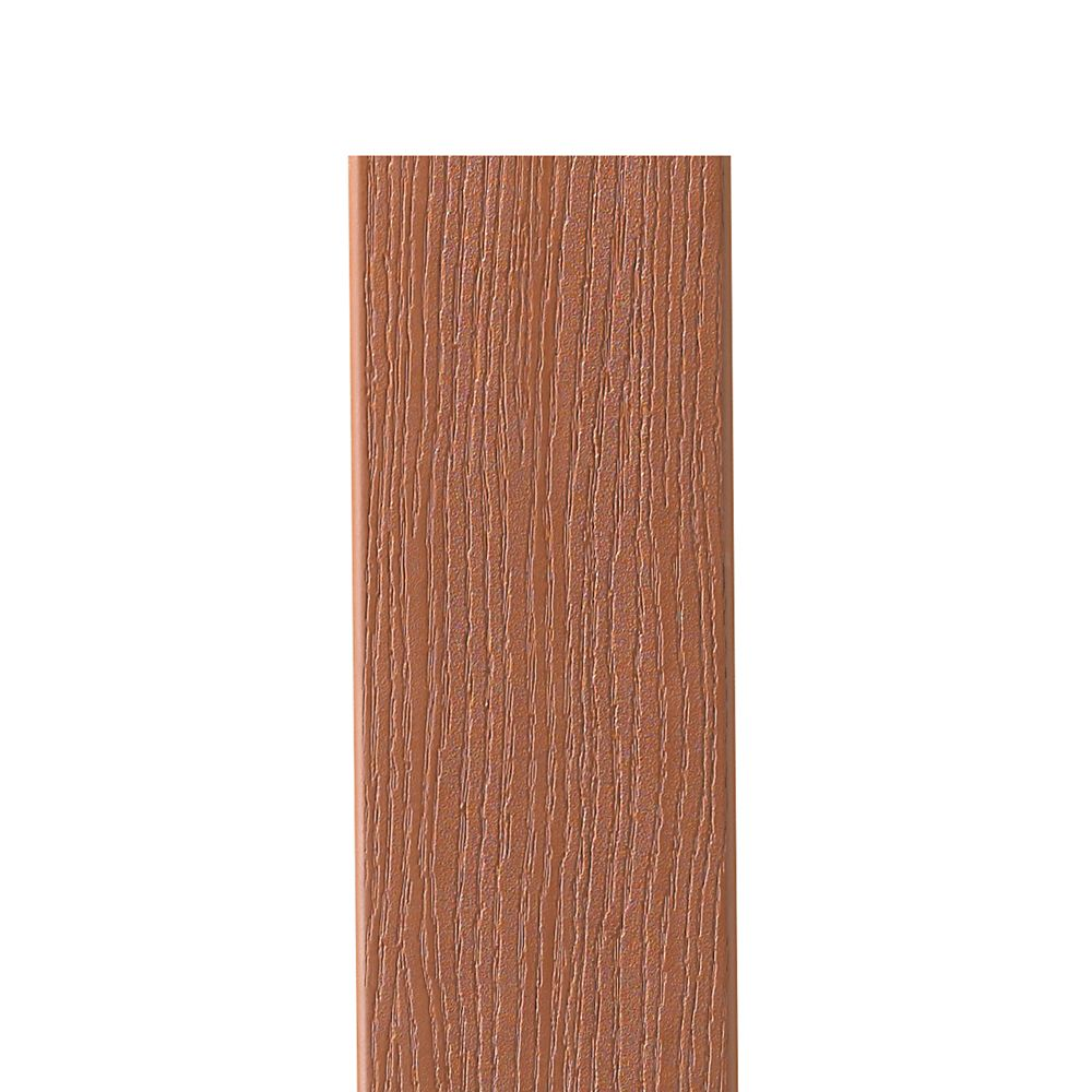 12 Ft. -  HP Composite Capped Fascia Redwood - 11 1/4 in x 1/2 in