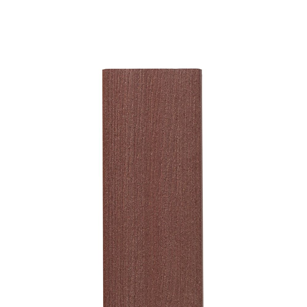 12 Ft. - Composite Fascia Walnut - 11 1/4 in