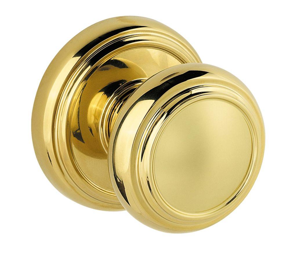Prestige Alcott Polished Brass Hall/Closet Knob