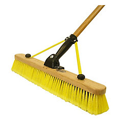 24Inch Multi Sweep Folding Pushbroom