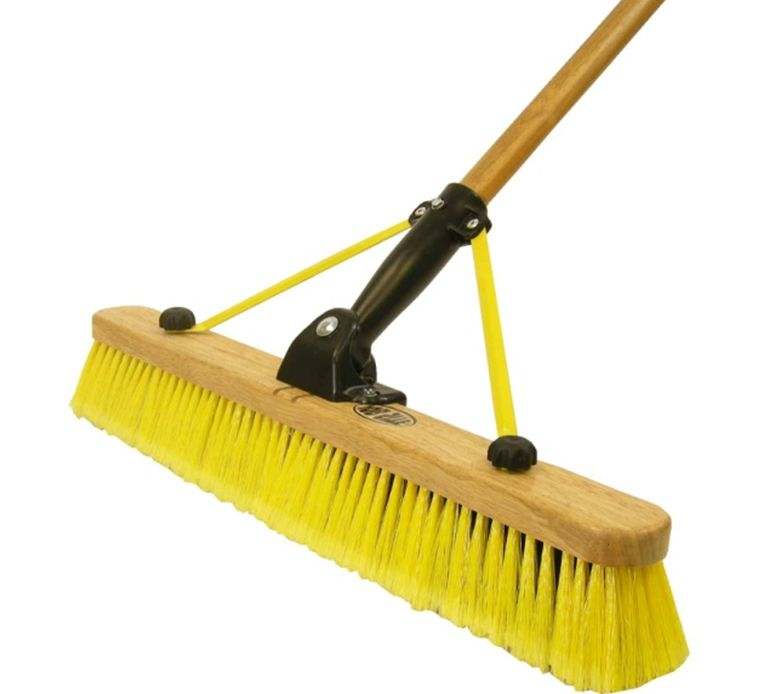24Inch Multi Sweep Folding Pushbroom