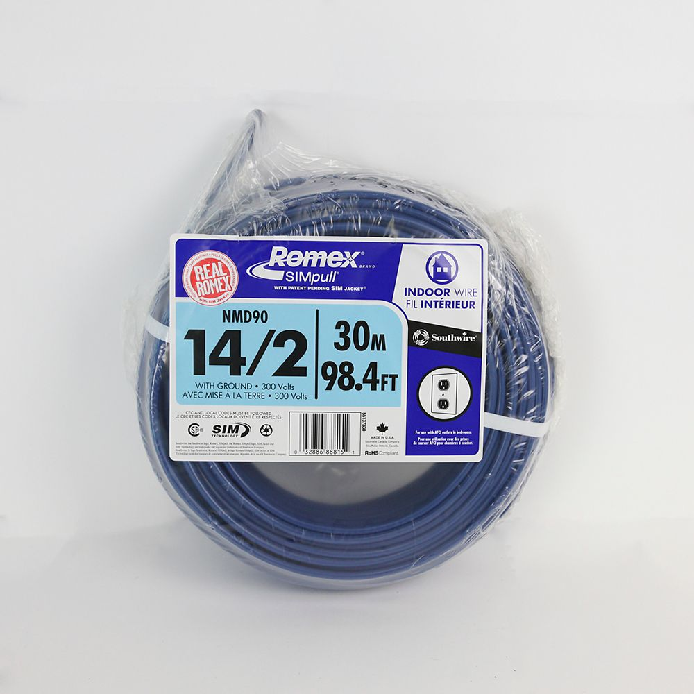 NMD90 14/2 30m bleu