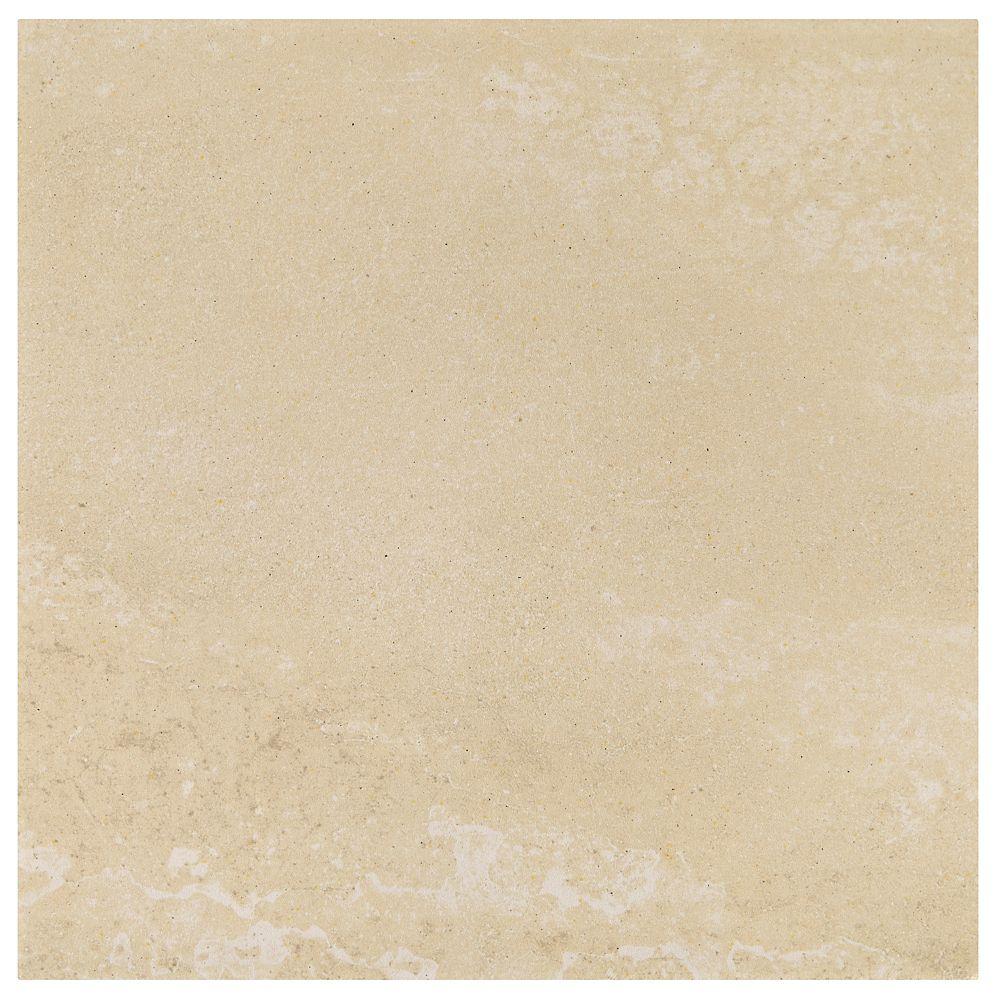 Daltile Viella Café Crème 12 inch x 12 inch Porcelain Floor and Wall Tile