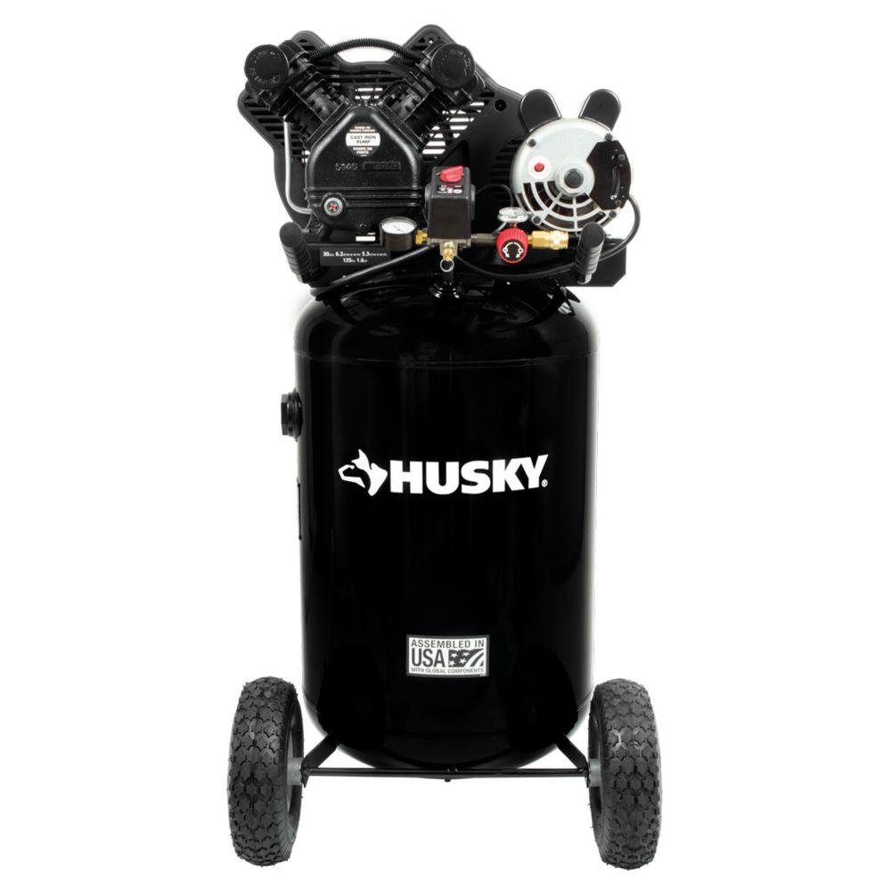 Husky 113,6 l Ultra-Quiet Compresseur