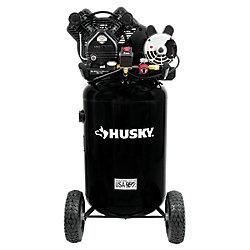 HUSKY 30 Gallon Belt Drive Oil Lube Air Compressor
